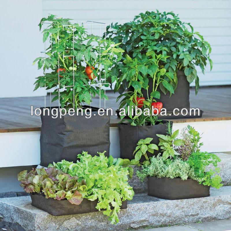 feutre vigoroot pots et jardini res grandir sacs planter des tomates poivrons herbes et pommes. Black Bedroom Furniture Sets. Home Design Ideas
