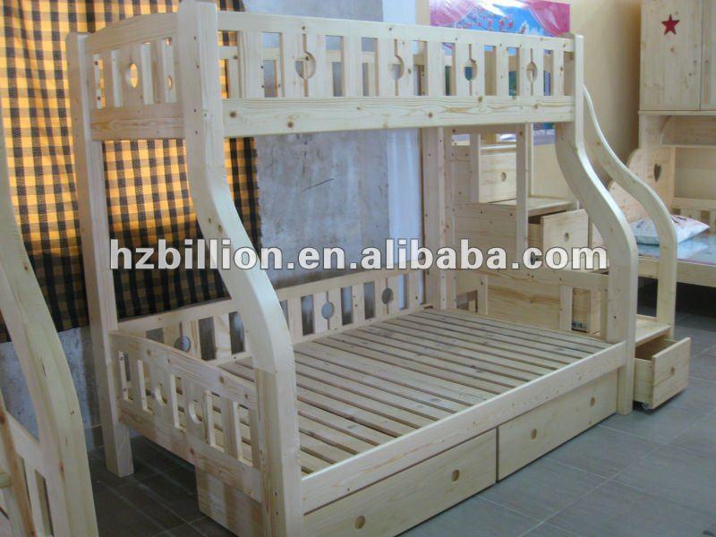 kinder kinder massivholz etagenbettenin nat rliche farbe mit treppe buy product on. Black Bedroom Furniture Sets. Home Design Ideas