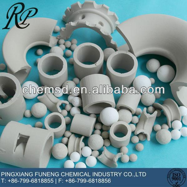 high quality Alumina Ceramic raschig rings 25mm
