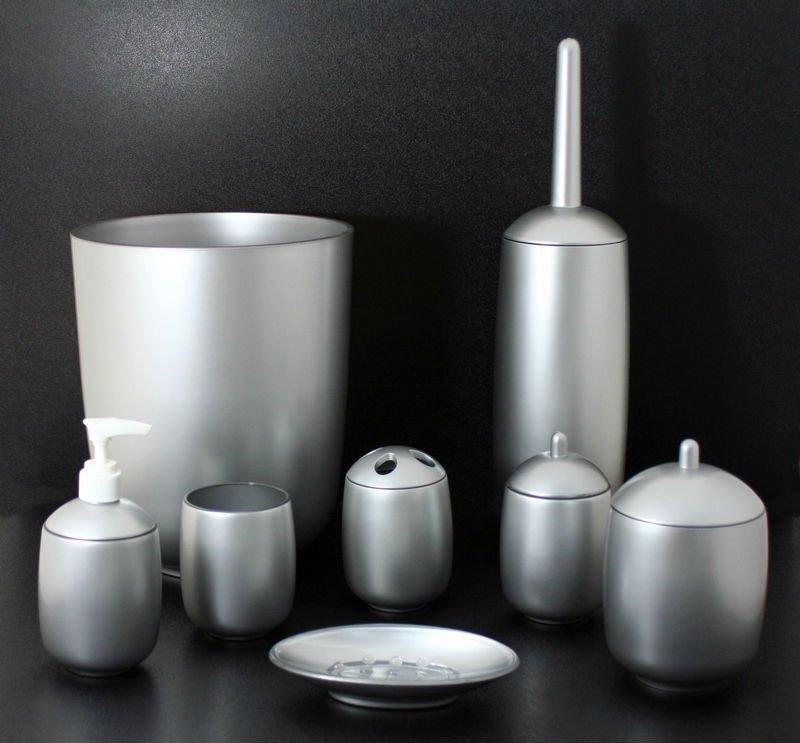Clear round corner square bathroom accessories view clear - Tiger accessori bagno ...