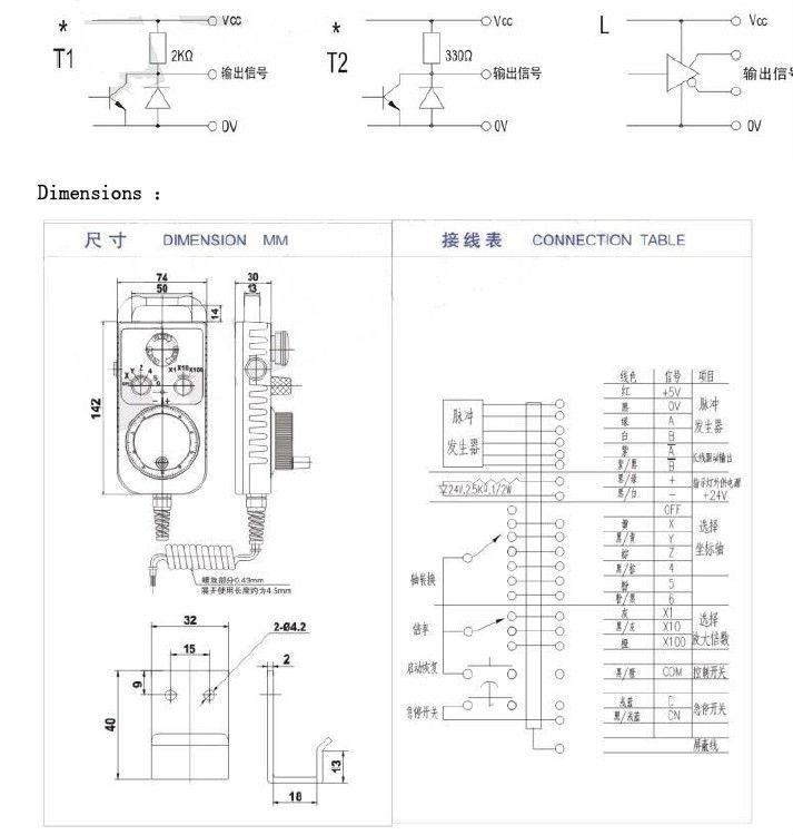 hand encoder pulse generator    manual pulse generator cnc