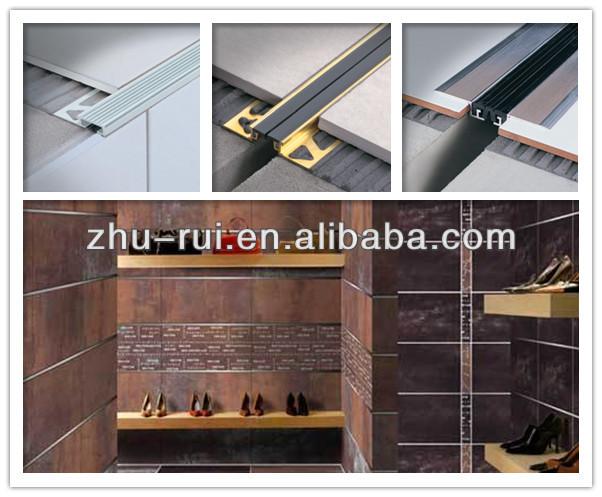 Aluminum floor tile