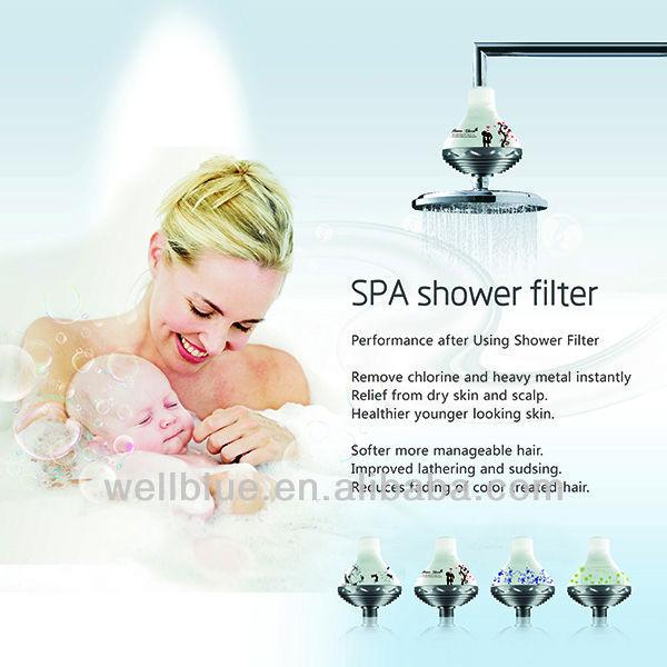 mineral shower head filter for chlorine remove buy chlorine shower filter m. Black Bedroom Furniture Sets. Home Design Ideas