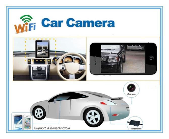 Wifi Wireless Transmitter Waterproof Car Rearview Camera
