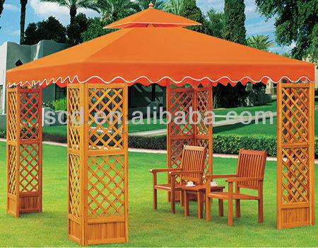 garden wood gazebo buy deluxe garden wood house luxury. Black Bedroom Furniture Sets. Home Design Ideas