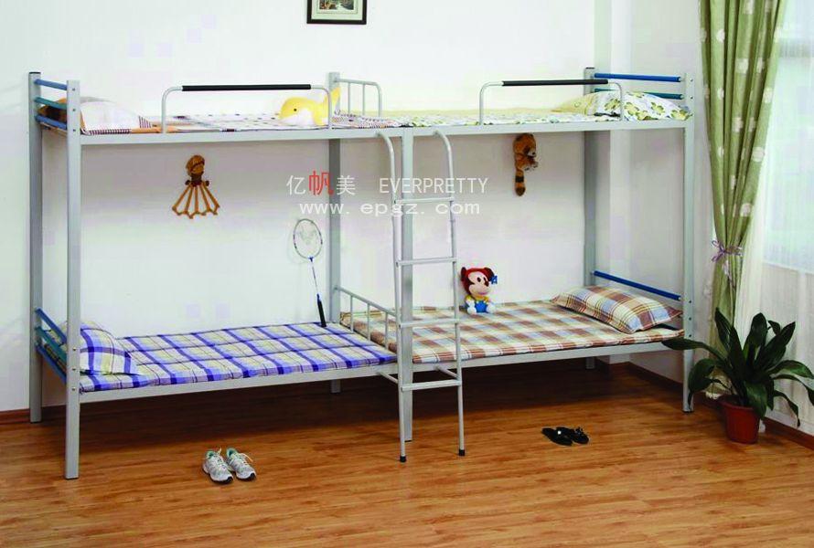 Modern cheap queen size double decker ladder loft bunk bed for Cheap double deck bed
