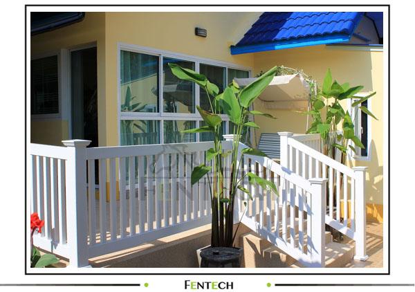 plastique pvc balustrades de balcon buy product on. Black Bedroom Furniture Sets. Home Design Ideas