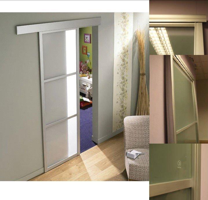 Vertical hangling sliding door closet profile buy glass - Puertas de aluminio correderas ...