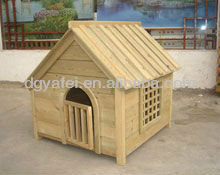 Outdoor Waterproof Wooden Dog Kennel With Bitumen Roof Dog