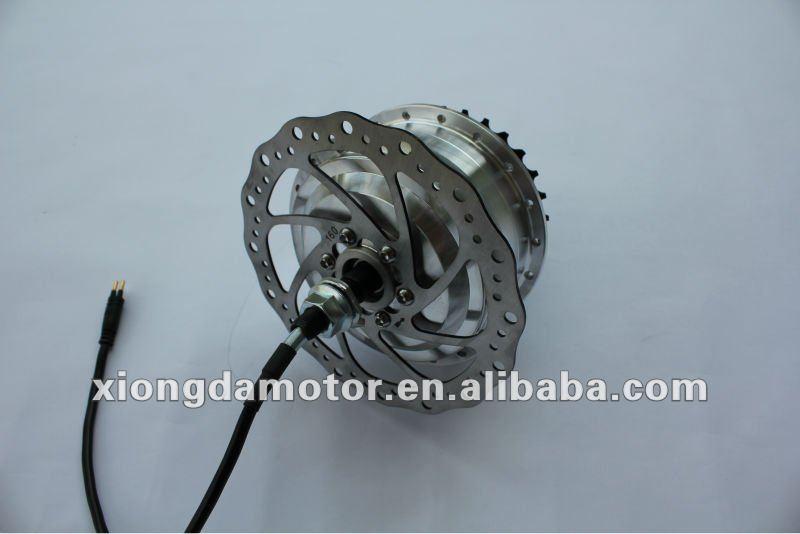 Brushless High Speed Electric Bicycle Motor/E- bike Motor/E-bicycle Disc-brake Rear Wheel Hub Motor