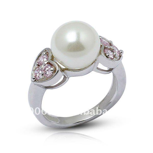fashion black pearl wedding ring rs00261 buy rings