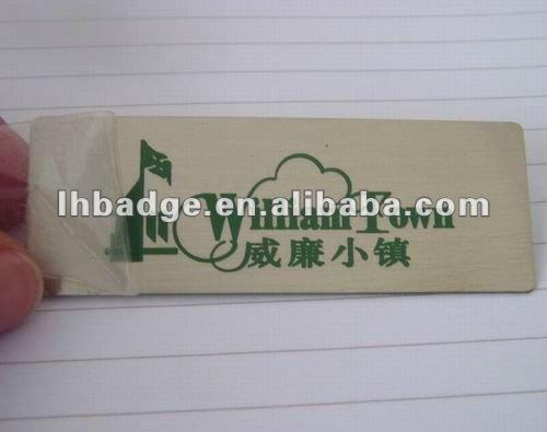 Aluminum Label For Furniture Highlight Aluminum Painted Label With 3m Tape Buy Aluminum Label