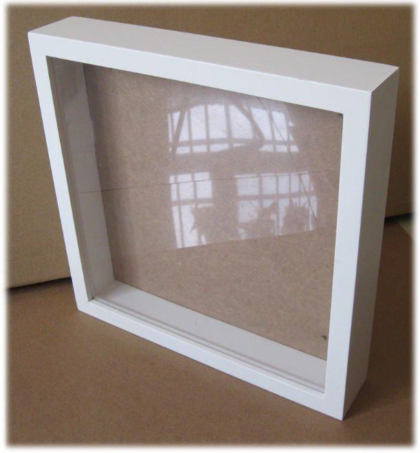 White Wooden Square Shadow Box Framenew Design Buy
