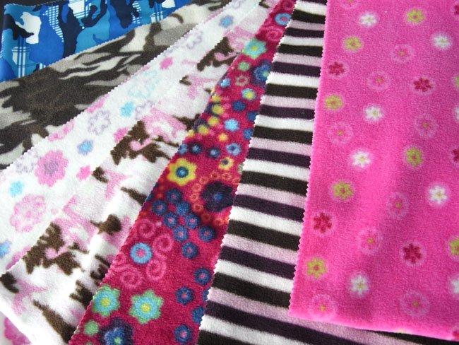 Circular Knitting Fabric : Fdy yarn printed camouflage polyester circular knitted