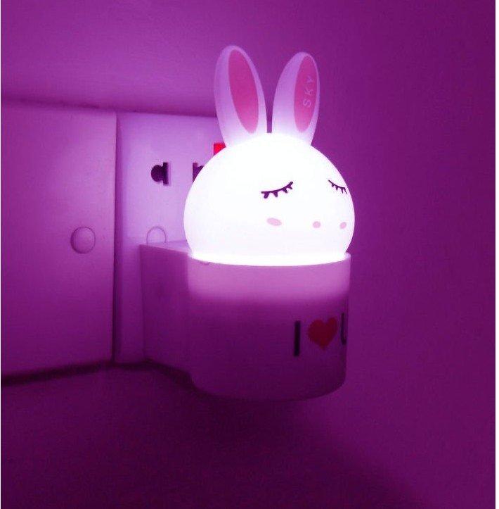 rabbit night lamp led night light buy led light night reading lamp. Black Bedroom Furniture Sets. Home Design Ideas