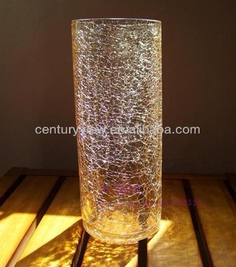 Wholesale Flower Vase Tube Crackle Glass Vase - Buy ...