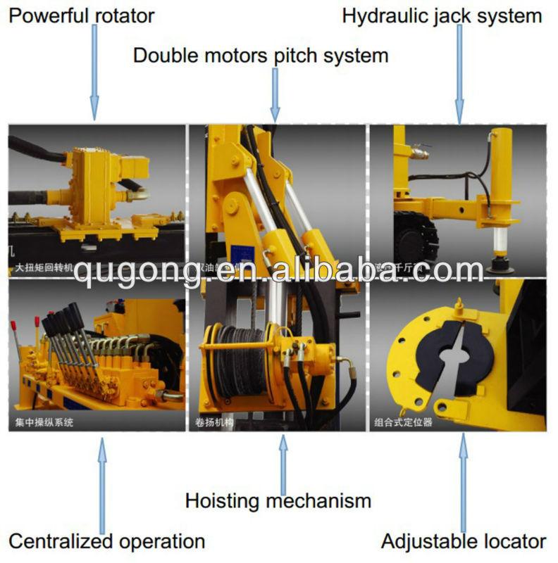 Portable Horizontal Boring : Portable core drill horizontal directional drilling