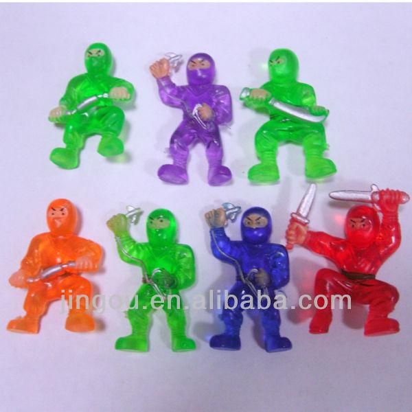 Mini Ninja Toys : New model rubber plastic toy ninja buy
