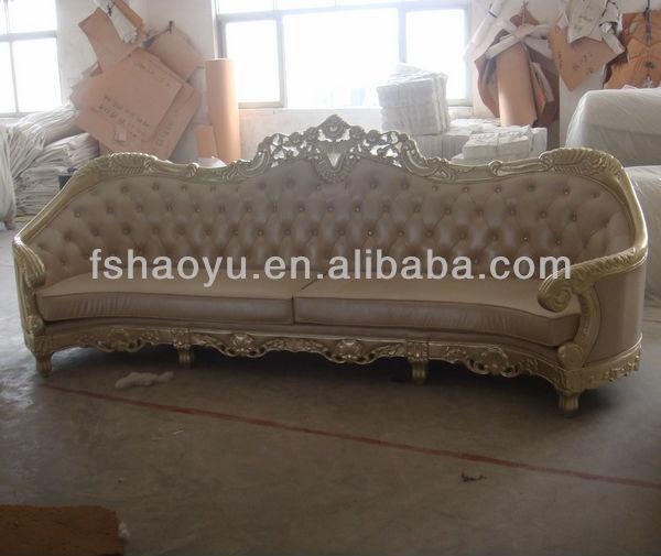 2017 Arab Antique Sofa Styles,Long Wedding White Leather Sofa - Buy ...