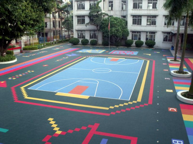 Full Of Childishness And Playfulness Kindergarten Floor