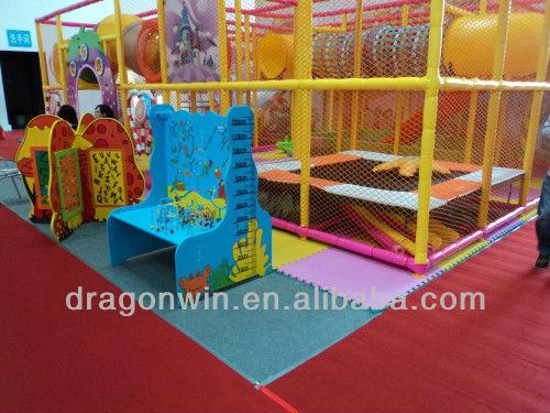 2013 newest style kids indoor tunnel indoor wooden for Indoor gym equipment for preschool