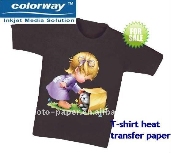 Inkjet heat transfer paper for dark t shirt buy transfer for Inkjet t shirt printing