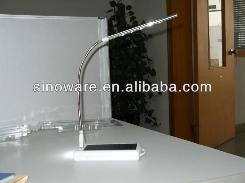 Multifunctional Solar Desk Lamp Solar Table Light With