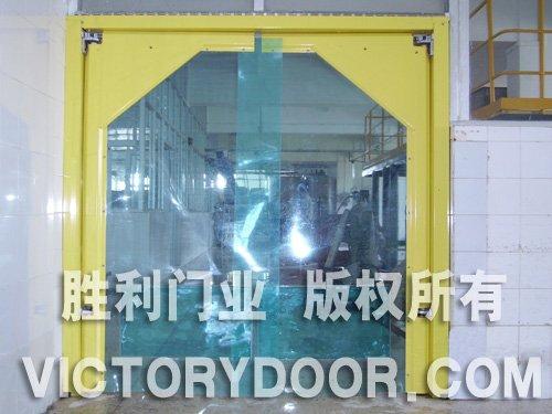 Flexible swing door buy flexible swing door impact door for 180 degree swing door