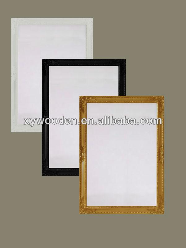 Decency fancy framed bathroom mirror full length dressing mirror ...