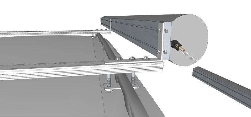 4x4 awning awning wall mount brackets polycarbonate awning view
