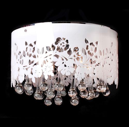 Oem design modern style clear crystal glass hanging - Como hacer lamparas de techo modernas ...