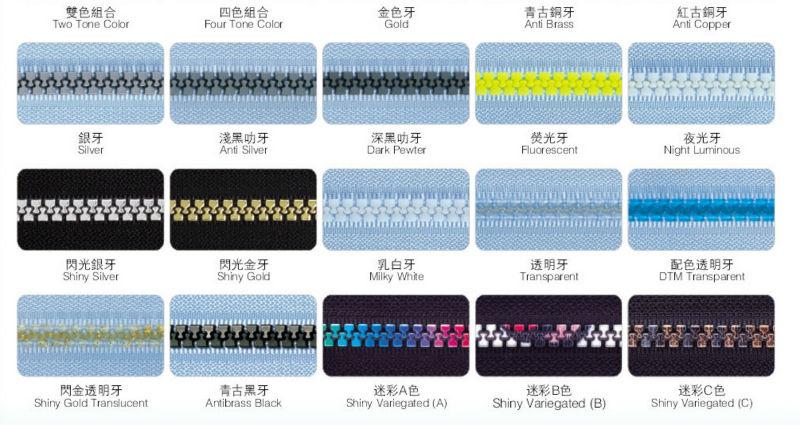 Product details nylon zipper nylon