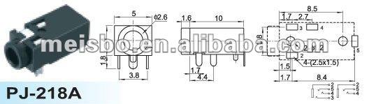 3 5mm Female Stereo Headphone Jack Wiring Buy Stereo