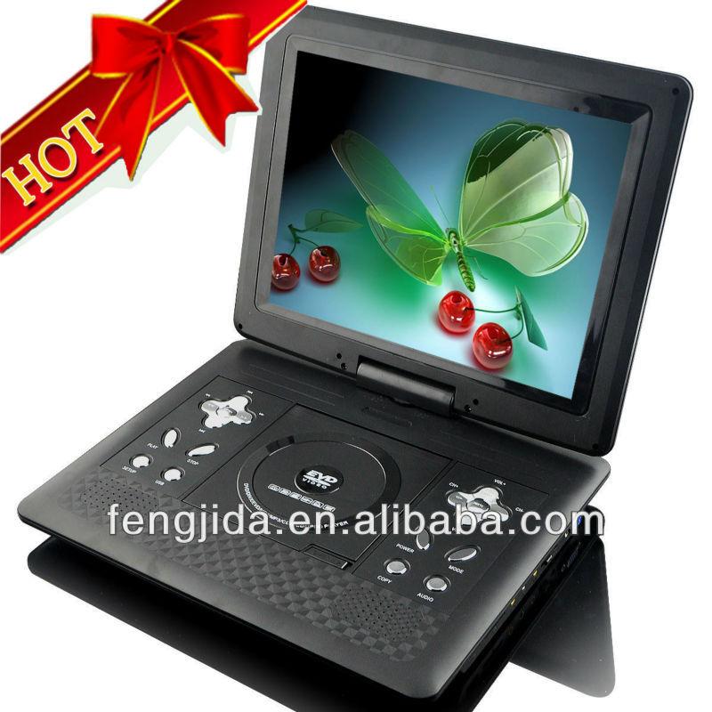 shenzhen 12 1 inch wide screen portable dvd divx player. Black Bedroom Furniture Sets. Home Design Ideas