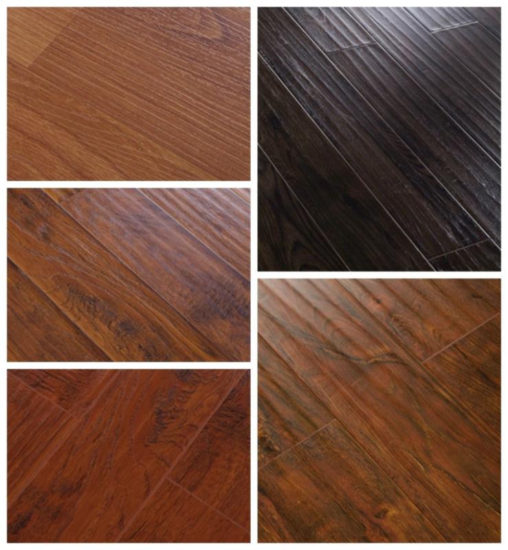 Hot wood look rubber flooring buy wood look rubber for Rubber wood flooring