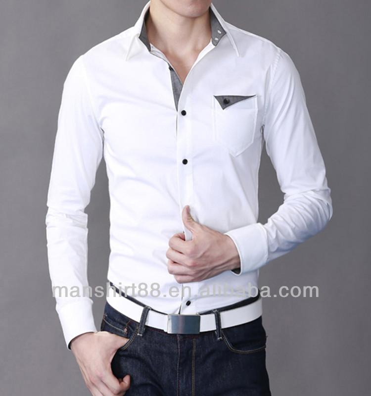 Mens Dress Shirts  White Casual amp Button Down Shirts  T