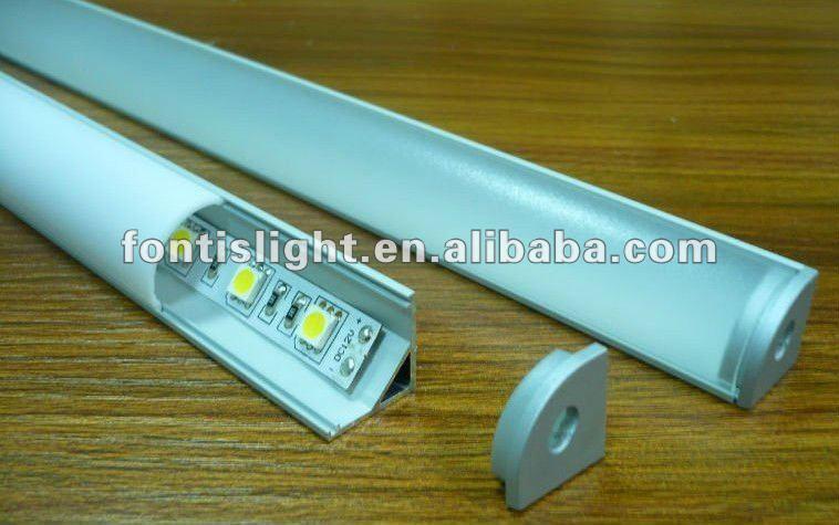 Profili in alluminio per le strisce led armadio da cucina vetrina buy profili in alluminio per - Strisce a led per interni ...