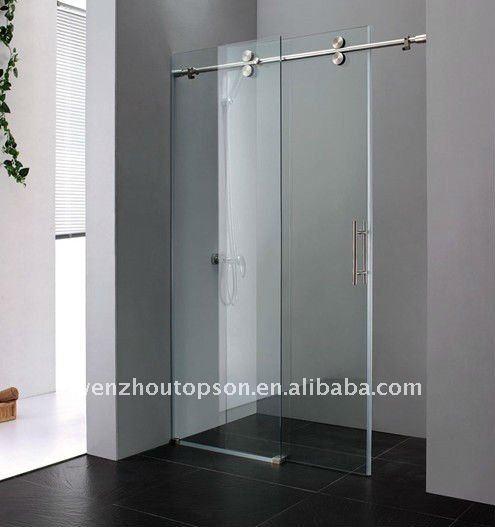 Walking In Line Glass Sliding Shower Door Amp Shower