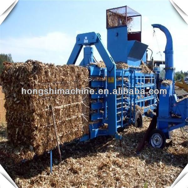 straw baler machine