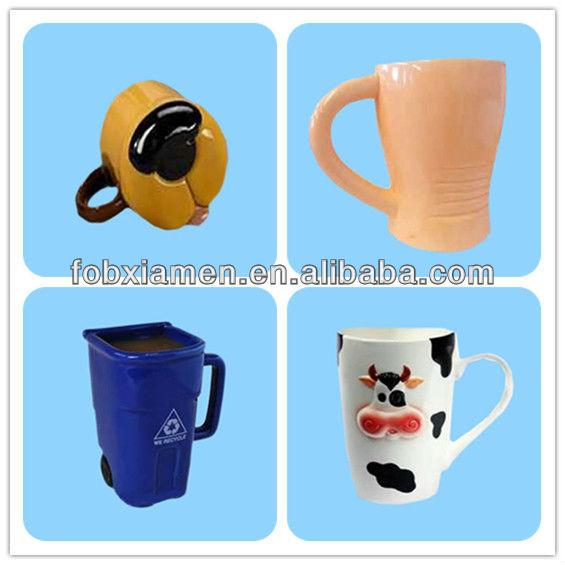 Novelty Cute Shaped Recycle Bin Mug Buy Recycle Bin Mug