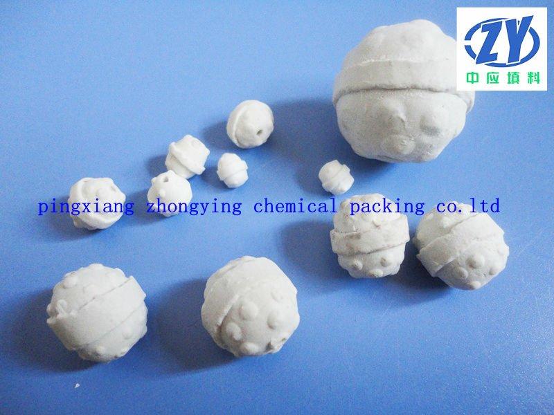 Alumina Ceramic Ball Catalyst Bed Ceramic Ball View