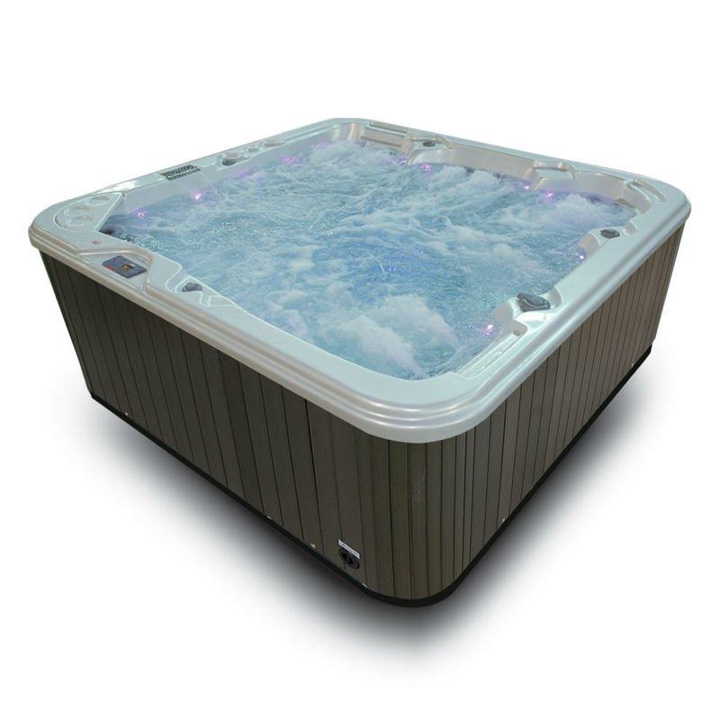 portable whirlpool spa tub amc 2280 high tech spa tub
