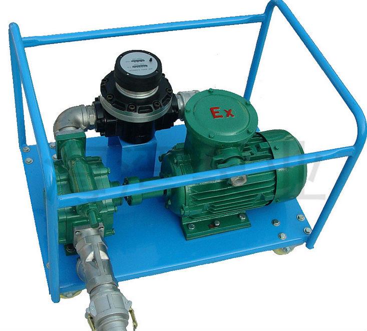 Kyb Self Priming Rotary Vane Pump With Flow Meter