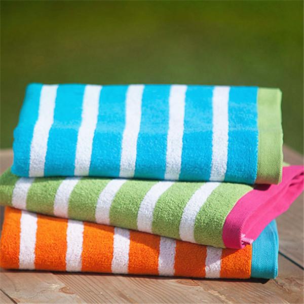 Wholesale Striped Cotton Beach Towel