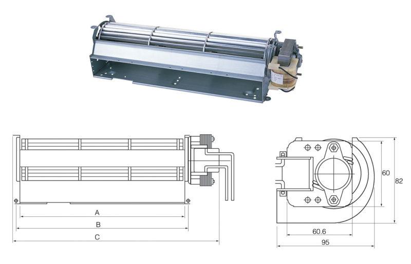 Fireplace Blowers Tangential Fan Motor For Oven Buy Fan