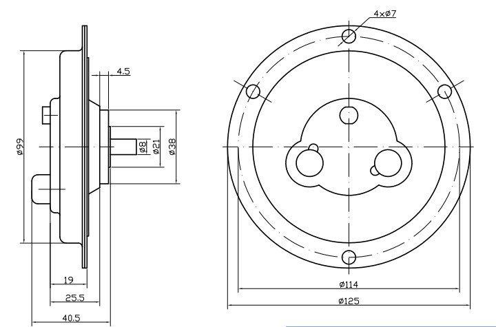 high quantity 12v dc flat motor