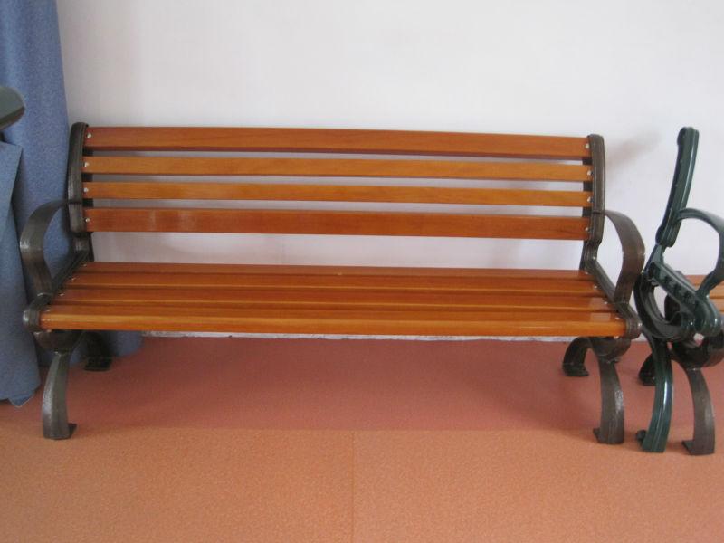 Outdoor Furniture Manufacturer Park Bench Trash Bin Flower Pot Pavilion Recycled Plastic Wood