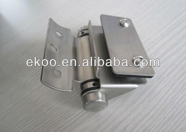 glass door hinge clamp