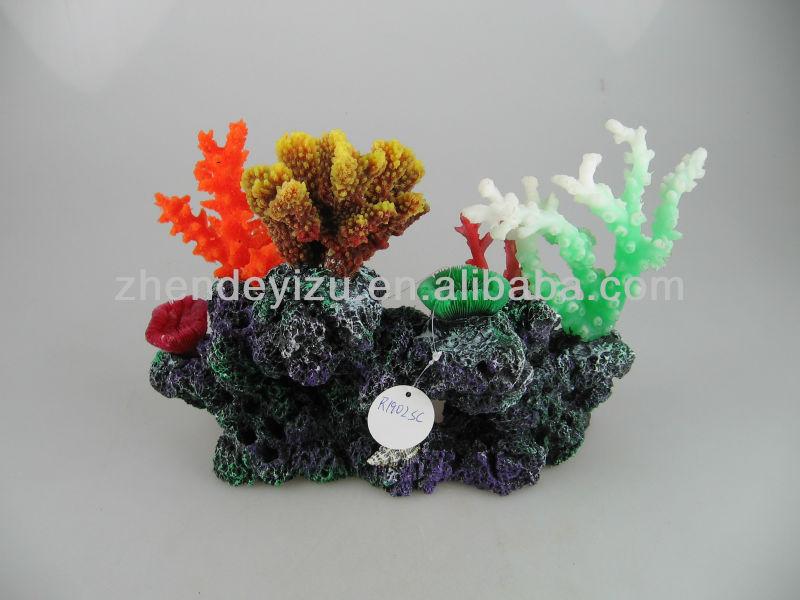 2012 newest aquarium products assorted artificial soft for Artificial coral reef aquarium decoration