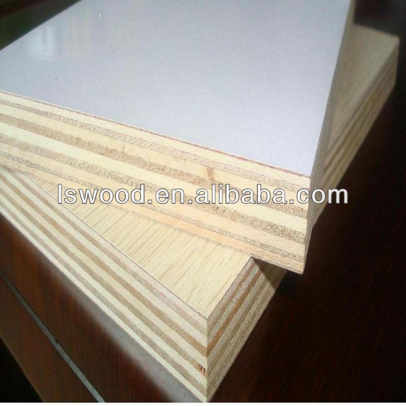 Hpl Laminate Plywood Double Sids White Matt Laminated